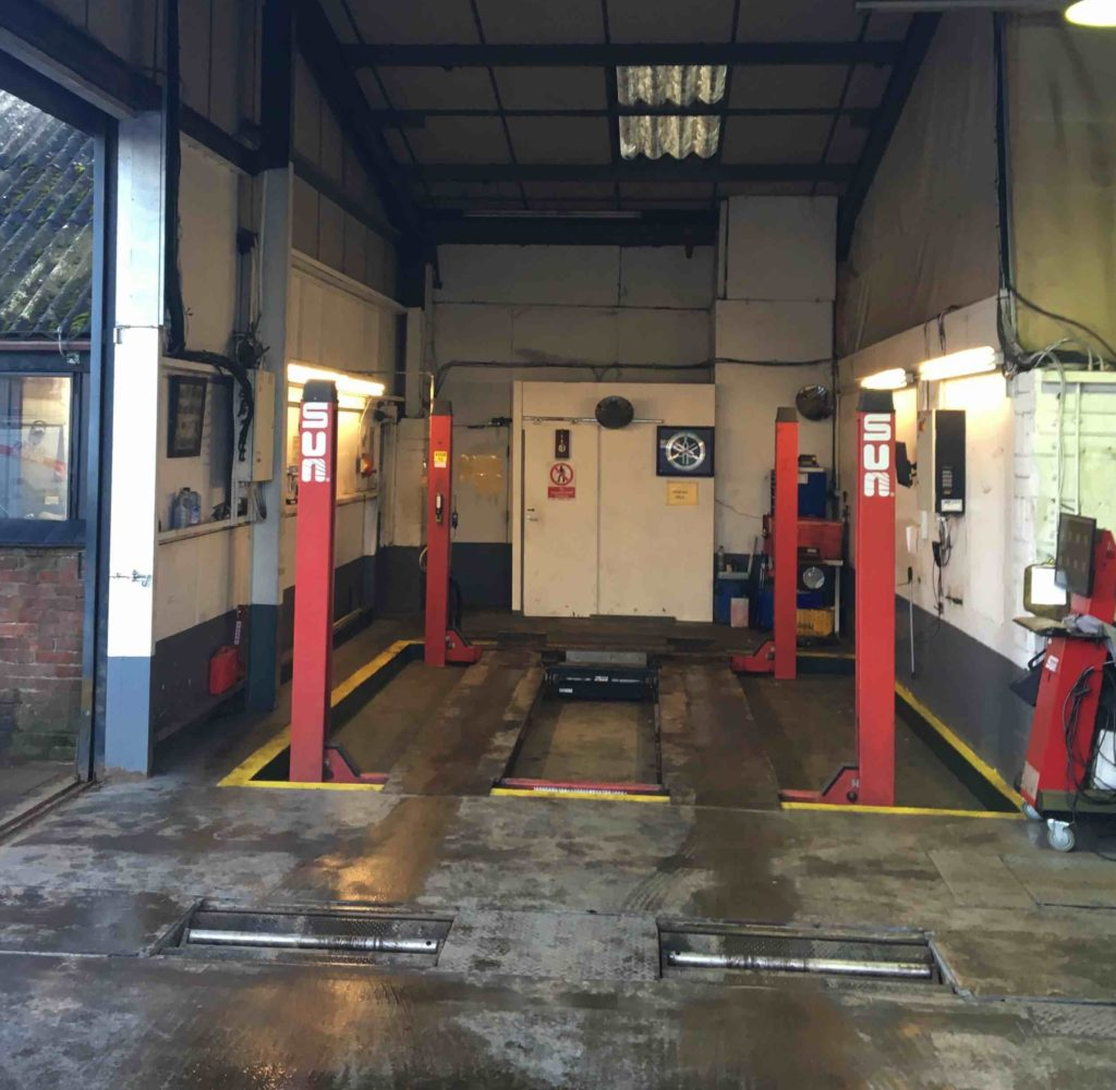 MOT Testing Station at Michael Wicks Garage Wisbech